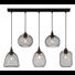 HÄNGELEUCHTE - Schwarz, Trend, Metall (89/20/120cm)