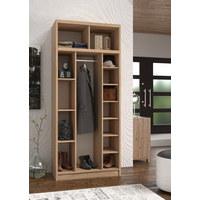 PREDSOBLJE - hrast Sonoma, Moderno, drvni materijal (90/210/45cm)