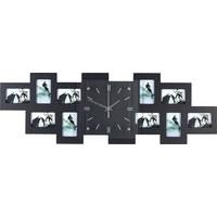 FOTO SAT - crna, Basics, staklo/drvo (80/26/4,8cm) - Boxxx