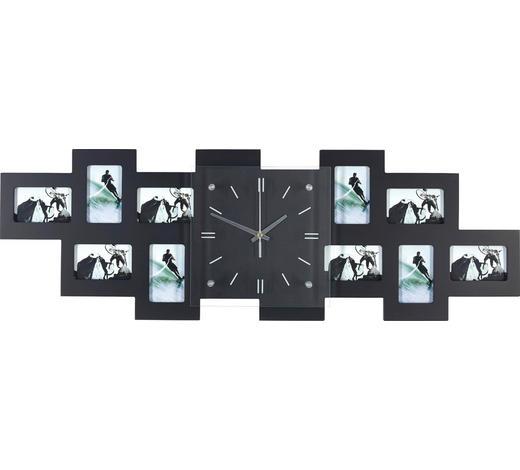 FOTOHODINY, 10 obraz/y, černá - černá, Basics, dřevo/sklo (80/26/4,8cm) - Boxxx