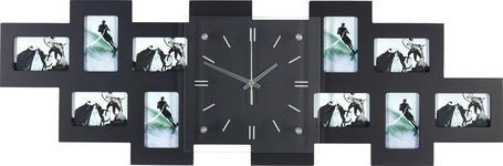 FOTOUHR 80/26/4,8 cm - Schwarz, Basics, Glas/Holz (80/26/4,8cm) - Boxxx