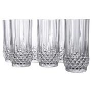 LONGDRINKBECHER, 6ER SET - Klar, Basics, Glas - Creatable