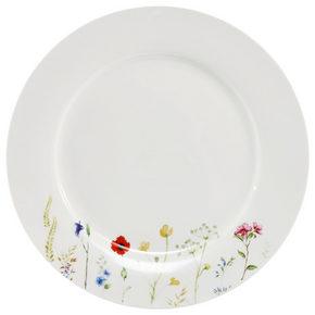MATTALLRIK - vit/multicolor, Basics, keramik (27cm) - Novel