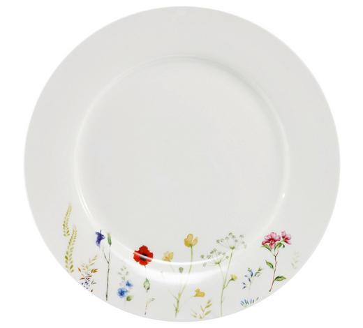 SPEISETELLER Keramik Bone China  - Multicolor/Weiß, Basics, Keramik (27cm) - Novel