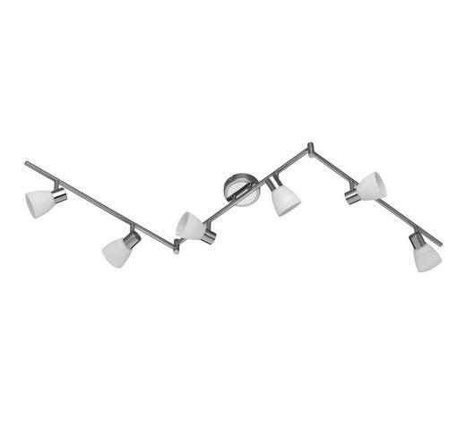LED-STRAHLER - Nickelfarben, KONVENTIONELL, Metall (150/19/10cm)