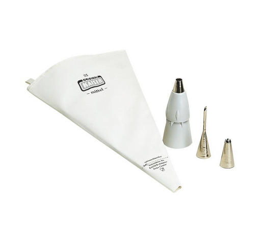 SPRITZBEUTEL - Weiß, Basics, Textil - Kaiser