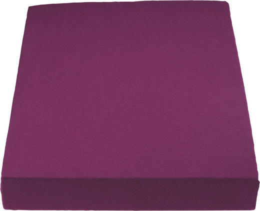 PLAHTA S GUMICOM - boja bobica, Basics, tekstil (180/200cm) - SCHLAFGUT