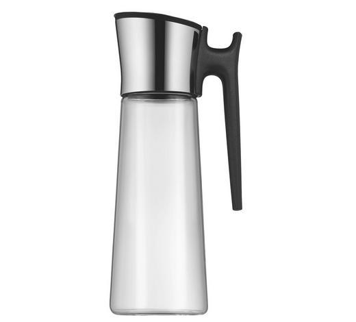 WASSERKARAFFE 1,5 L    - Schwarz, KONVENTIONELL, Glas/Kunststoff (15/31cm) - WMF