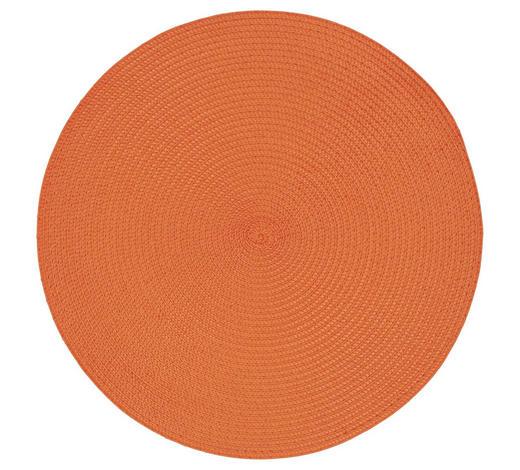 TISCHSET 38/38 cm Textil  - Orange, Basics, Textil (38/38cm) - Homeware