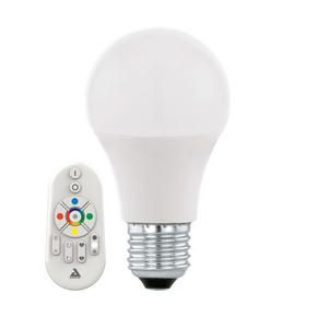 LED - vit, Basics, metall (11,6cm)