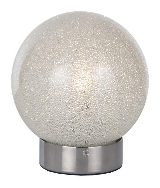 TISCHLEUCHTE - MODERN, Glas/Metall (18/15cm)