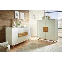 Garderobe Holz Wei. Elegant In Wei Hochglanz Holz Dekor Modern ...