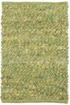 HANDWEBTEPPICH 130/200 cm - Grün, Basics, Textil (130/200cm) - Linea Natura