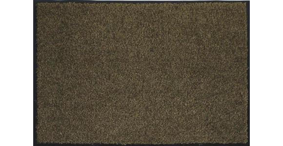 FUßMATTE 40/60 cm  - Anthrazit/Braun, KONVENTIONELL, Textil (40/60cm) - Esposa
