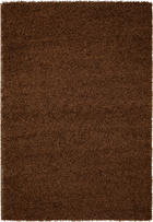 TEPIH VISOKOG FLORA - smeđa, Konvencionalno, tekstil (60/110cm) - Boxxx