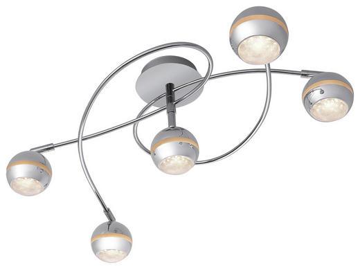 LED-DECKENLEUCHTE - Chromfarben, Design, Kunststoff (75/25/45cm) - Novel