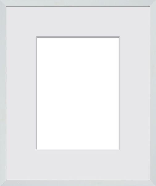 BILDERRAHMEN in Weiß - Weiß, Basics, Glas/Holz (83/63/3cm)