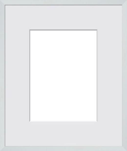 RÁM NA OBRAZY - bílá, Basics, dřevo/sklo (50/70cm)