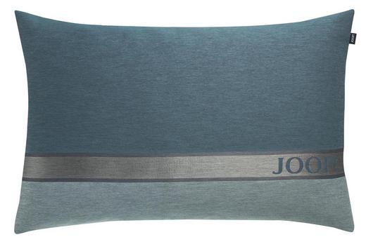 KISSENHÜLLE Mintgrün, Petrol, Silberfarben 40/60 cm - Silberfarben/Petrol, Basics, Textil (40/60cm) - Joop!