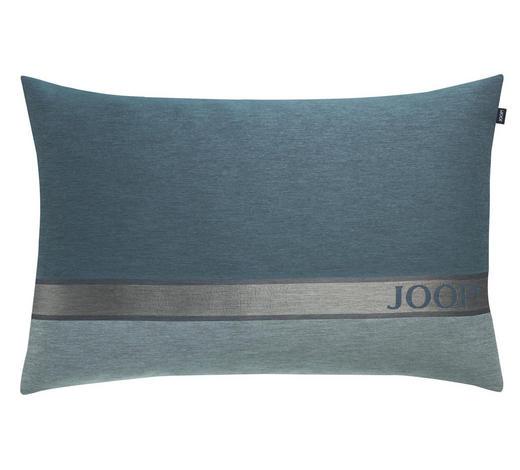 KISSENHÜLLE Silberfarben, Petrol, Mintgrün 40/60 cm  - Silberfarben/Petrol, Basics, Textil (40/60cm) - Joop!