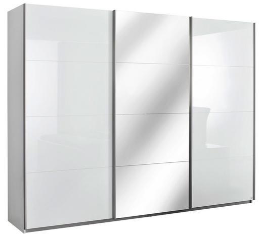 ORMAR S KLIZNIM VRATIMA - boje aluminija, Design, drvni materijal/metal (271/210/62cm) - Novel