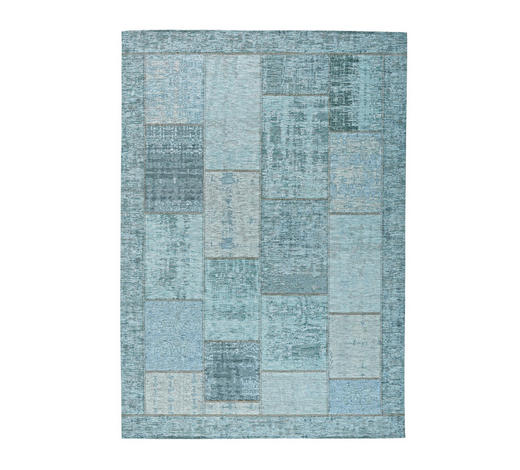 FLACHWEBETEPPICH  130/190 cm  Türkis   - Türkis, Basics, Textil (130/190cm) - Novel