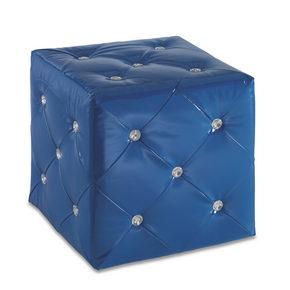 SITTKUB - blå, Design, textil (40/40/40cm)