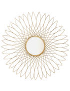 WANDSPIEGEL Goldfarben  - Goldfarben, Basics, Glas/Metall (80cm) - Ambia Home