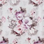 DEKOSTOFF per lfm blickdicht  - Beere/Beige, Trend, Textil (138cm) - Esposa
