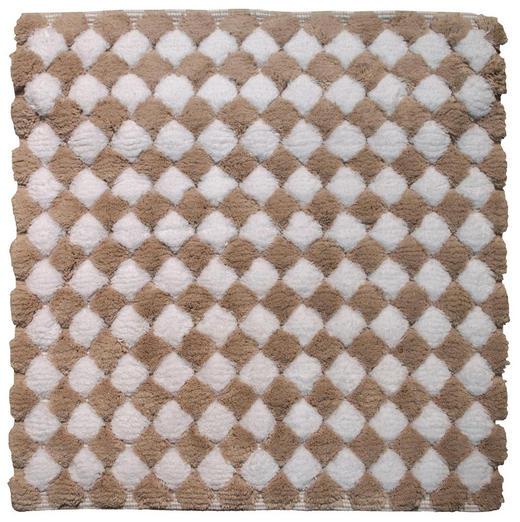 KUPAONSKI TEPIH - bež, Basics, tekstil/plastika (60/2/60cm) - Kleine Wolke