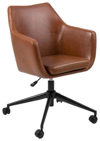 SNURRSTOL - brun/svart, Klassisk, metall/textil (58/91,5/58cm) - CARRYHOME