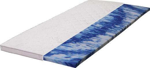 TOPPER 180/6/200 cm Gelschaumkern - Weiß, Basics, Textil (180/6/200cm) - Carryhome