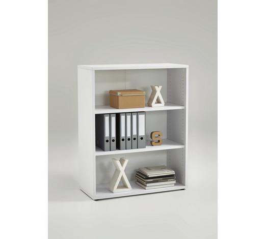 AKTENREGAL Weiß  - Weiß, MODERN, Holzwerkstoff (89/111/40cm) - Carryhome