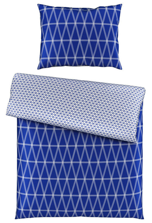 BETTWÄSCHE 140/200/ cm - Blau, Design, Textil (140/200/cm) - Novel