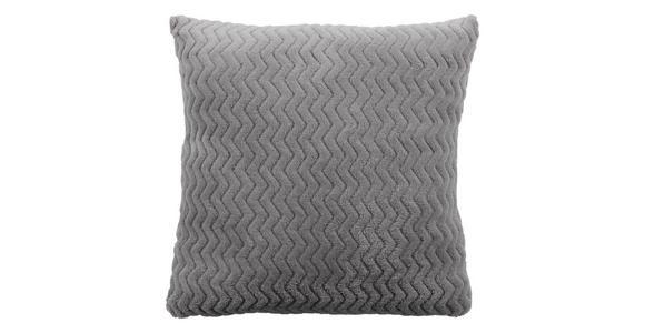 Zierkissen Talisha - Silberfarben, MODERN, Textil (40/40cm) - Luca Bessoni