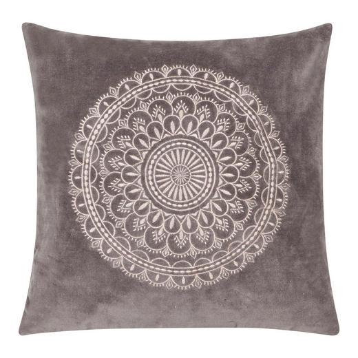 ZIERKISSEN - Hellgrau, Basics, Textil (60/60cm)