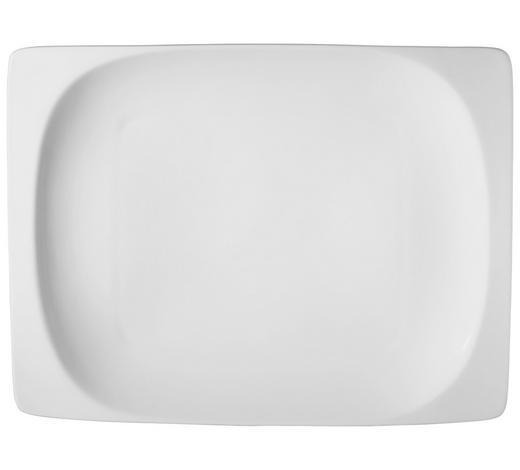 PLITVI KROŽNIK VITA - bela, Basics, keramika (21,5/29,5/4cm) - Ritzenhoff Breker