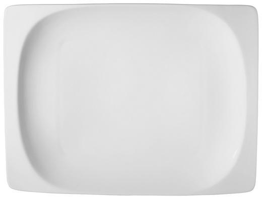 SPEISETELLER Keramik Porzellan - Weiß, Basics, Keramik (21,5/29,5/4cm) - Ritzenhoff Breker