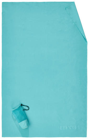 STRANDTUCH 110/175 cm - Türkis, Design, Textil (110/175cm) - Esposa