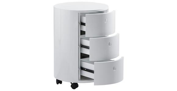 KOMMODE  - Weiß, Design, Holzwerkstoff/Kunststoff (40/57,5cm) - Xora