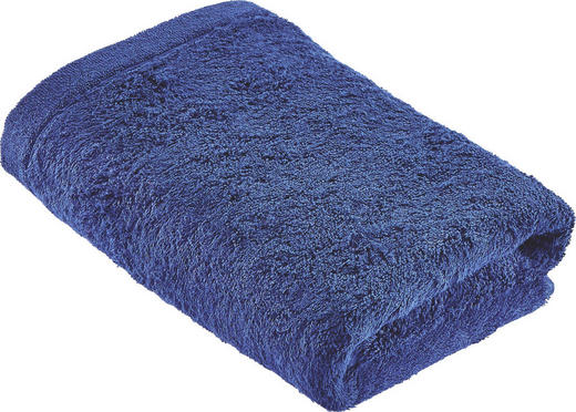 HANDTUCH 50/100 cm - Blau, Basics, Textil (50/100cm) - CAWOE