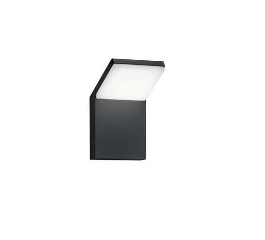AUßENWANDLEUCHTE Anthrazit  - Anthrazit, Design, Kunststoff/Metall (10,0/16,0/10,5cm)