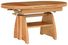 COUCHTISCH in Holzwerkstoff, Metall 110(150,5/65/56-75 cm - Birnbaumfarben, KONVENTIONELL, Holzwerkstoff/Metall (110(150,5/65/56-75cm) - Venda