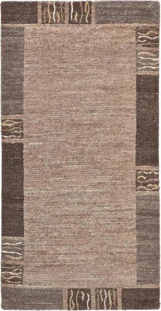 ORIENTTEPPICH  70/140 cm  Braun, Naturfarben - Braun/Naturfarben, Basics, Textil (70/140cm) - Esposa