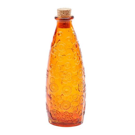SPIRITUOSENFLASCHE   0,3 L - Orange, Basics, Glas (6/23cm) - Homeware
