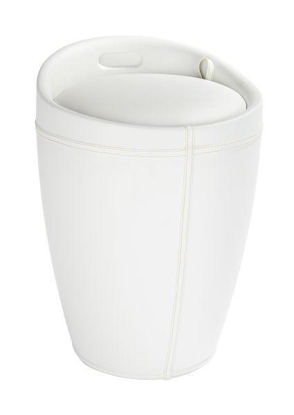 WÄSCHETONNE - Schwarz/Weiß, Basics, Kunststoff (36/50,5cm)