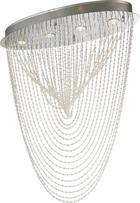 DECKENLEUCHTE - Klar, ROMANTIK / LANDHAUS, Glas/Metall (72/32/85cm) - AMBIENTE