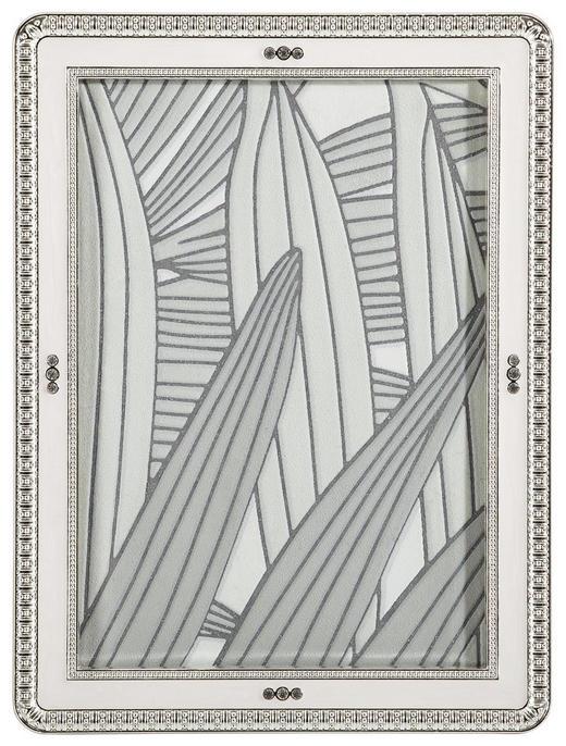 BILDERRAHMEN  Weiß - Weiß, Basics, Glas/Metall (15,2/20,3cm) - Ambia Home