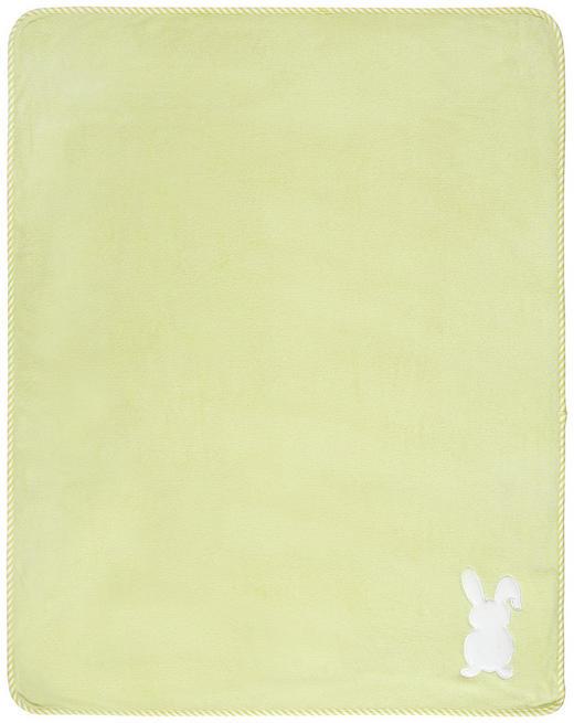 SCHMUSEDECKE - Limette, Basics, Textil (75/100cm) - My Baby Lou