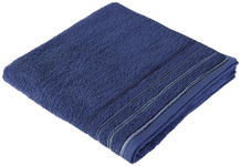 DUSCHTUCH 70/140 cm Blau  - Blau, KONVENTIONELL, Textil (70/140cm) - Esposa